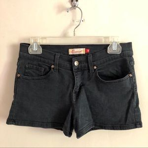 Eunina Jeans USA Black Jean Shorts